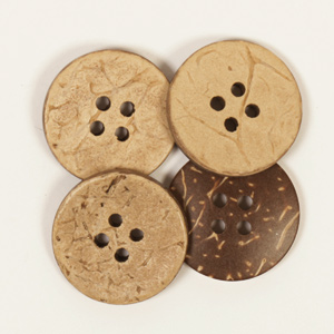 Round Coconut Button 20mm