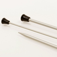 Basic Single Pointed Needles in Aluminium 35cm