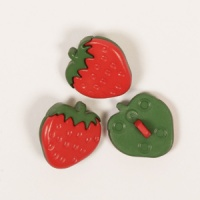 Strawberry Button 18mm
