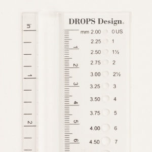 Drops Plus Needle Measure