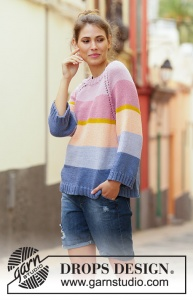 DROPS Sonora Sunrise Sweater
