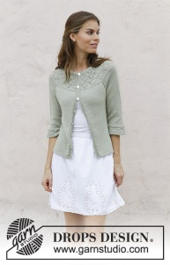 DROPS Summer Evening Cardigan