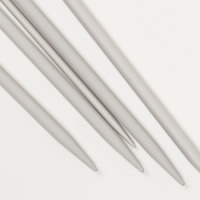 Basic Double Pointed Needles Aluminium 20cm