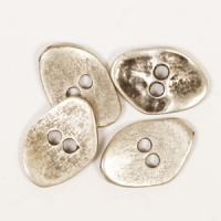 Jagged Metal Button 20mm