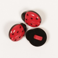 Ladybird Button 14mm