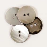Round Moonbeam Mother of Pearl  Button 20mm