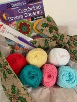 Crocheted Granny Squares Gift Pack