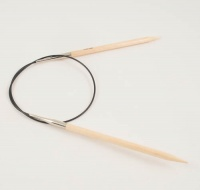 Basic Fixed Circular Needles in Birch 40cm